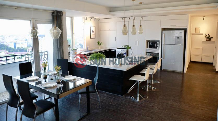 Gorgeous two bedroom apartment for rent in Ba Dinh, Hanoi