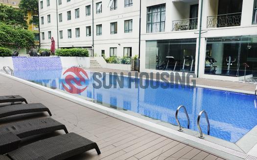 Living in a duplex 3 bedroom apartment in Tran Phu, Ba Dinh | Full service
