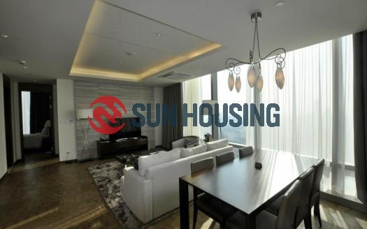 Touch-of-luxury three-bedroom apartment in Lotte Tower, Ba Dinh, Hanoi