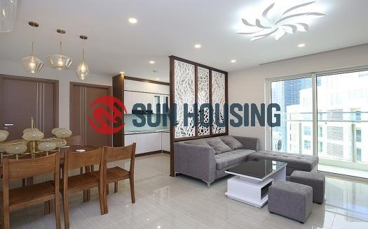Elegant two-bedroom apartment in L Building, Ciputra Hanoi