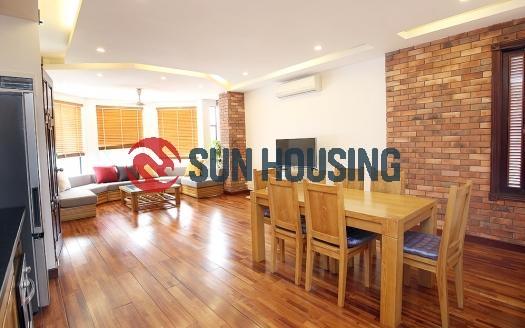Adorable two-bedroom apartment in Dang Thai Mai str, Westlake, Hanoi