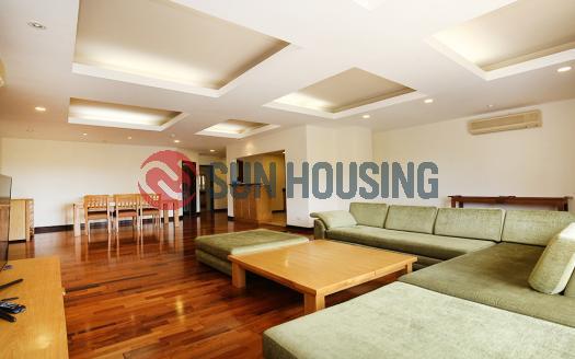 Classy 3 bedroom serviced apartment for rent in Hoan Kiem, Hanoi Center