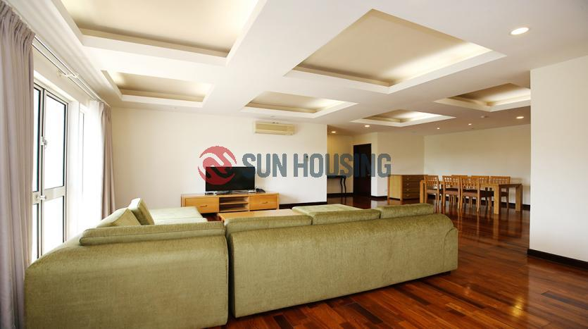 Classy 3 bedroom serviced apartment for rent in Hoan Kiem, Hanoi Center