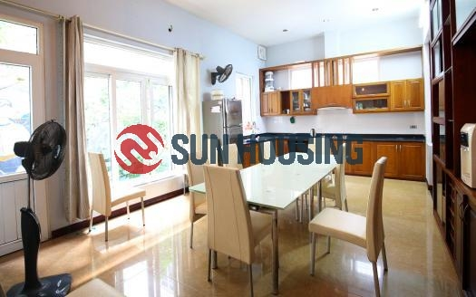 Big house for rent in Tay Ho with eight bedrooms, Hanoi