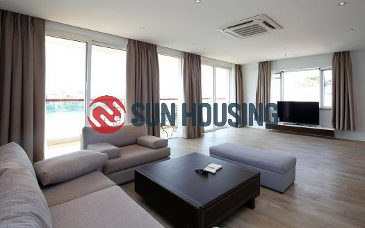 Renovated 02-br apartment in Quang An street, Westlake | It's lake-facing