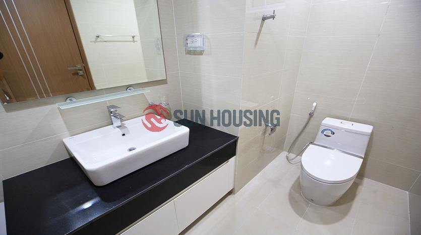 Brand-new Ciputra apartment for rent, 3 bedrooms, L-building.
