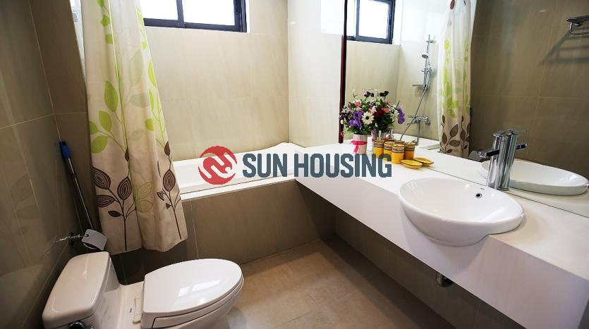 Center location 2 bedroom apartment for rent in Tay Ho, $1200/month