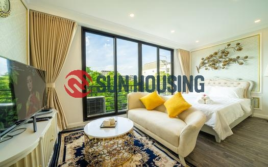 Deluxe studio with balcony in Tran Phu Ward, Hanoi | Ideal location