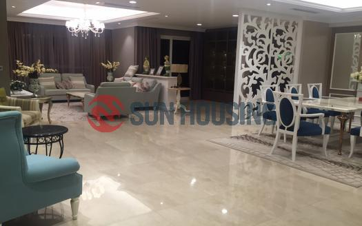Luxury Ciputra 4 bedroom apartment for rent, 267sqm, neo classic style