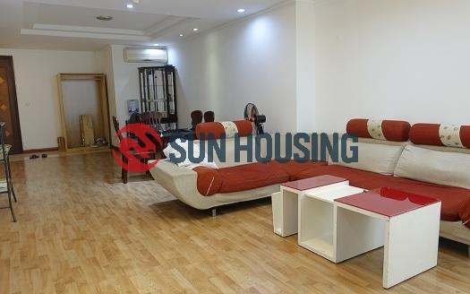 Fully-furnished Ciputra Hanoi 3 bedroom apartment, good condition