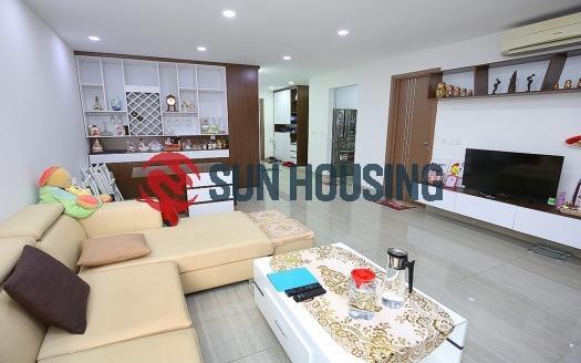 High-floor 3 bedroom Ciputra apartment for rent, L4 building