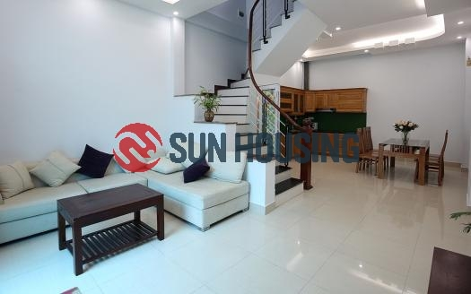 Visit now a furnished 4 bedroom house in Au Co, Tay Ho Hanoi