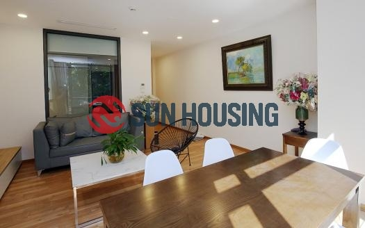 Brand-new 2 bedroom apartment for rent in Ba Dinh, Truc Bach area
