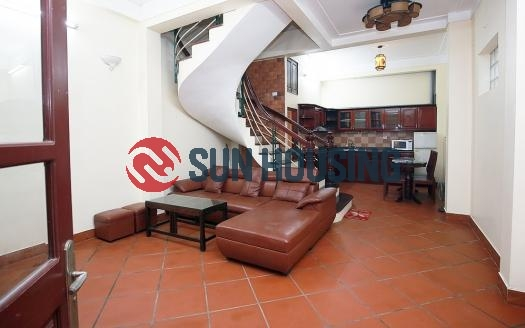 Good price 4 bedroom house in Tay Ho for rent, Nghi Tam village