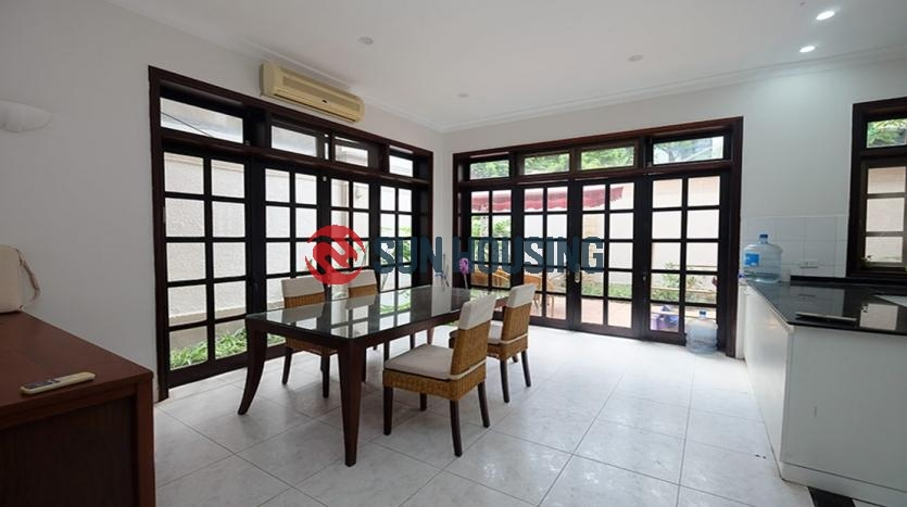 For rent good price 4 bedroom Ciputra Villa in D block, good condition