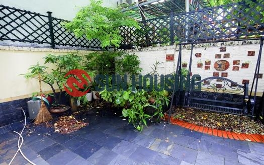 Large House in Quang An district. 3.5 Floors, attached car garage, $1800/month.