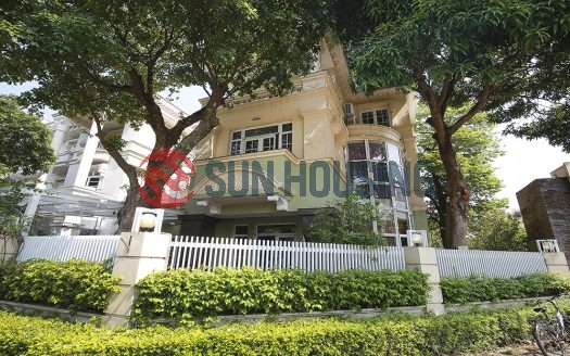 Enormous villa in ciputra Hanoi is waiting for you. A massive area of 400m2