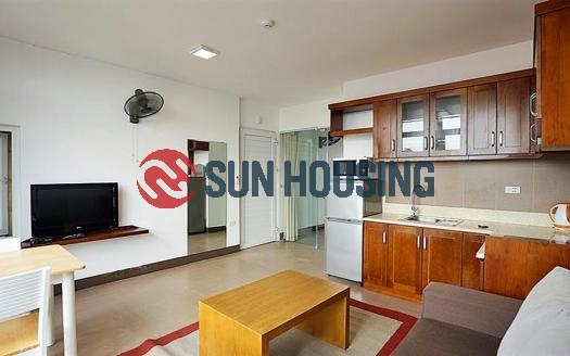 All conveniences just steps away from this lovely one bedroom apartment in Tay Ho.