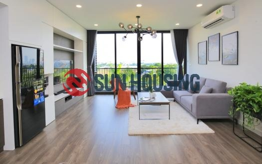 A brand new 2 bedroom apartment for rent on Trinh Cong Son, Tay Ho