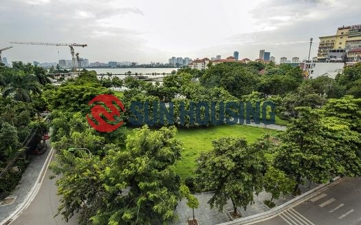 Beautiful 120m2 Apartment in Central Quang An for $1600/month. All new furnishings!