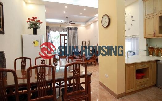 You may consider this beautiful 6 bedroom house in Tay Ho for your big family
