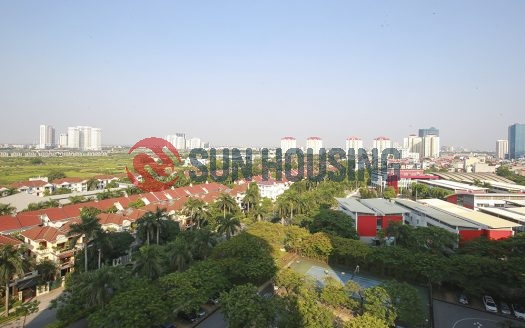 Large Ciputra flat for rent. 3 bedrooms and 2 bathrooms. Area 123m2