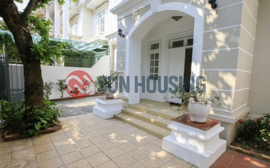 Massive villa in Ciputra, Hanoi for rent.