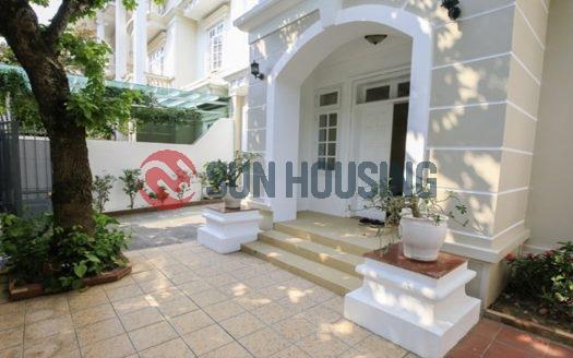 Massive villa in Ciputra, Hanoi for rent.