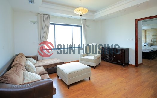 Trendy apartment in Truc Bac for rent. Modern interior design.