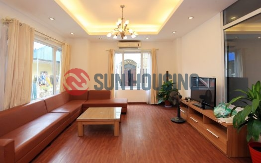 House 4 bedrooms in Xuan Dieu to rent