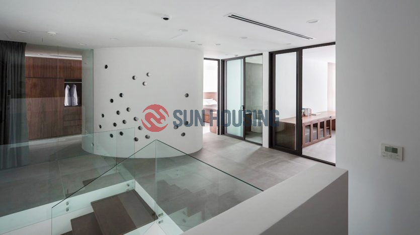 Lake view apartment in Sun Grand City Thuy Khue for lease.