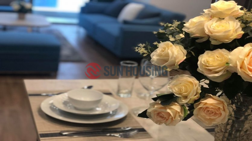 Luxury furnished apartment for rent in Vinhomes Metropolis 120 sqm