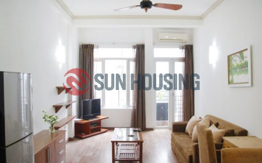 Modern 70m², 1 bedroom serviced apartment in alley Trang An, Hai Ba Trung district, Ha Noi