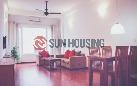 Service apartment 1 bedroom in Trang An alley for rent
