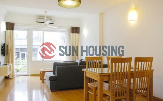 Serviced 01 bedroom apartment in Trang An for lease