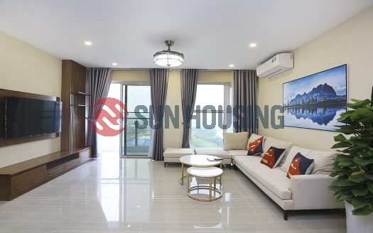 The brand new apartment is at L Tower, Ciputra, golf course view for rent