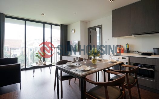 Clean and new, one bedroom apartment in Tay Ho for rent.