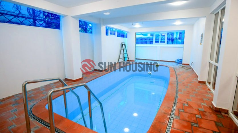 Villa in Tay Ho with a pool in the back yard. Plenty of rooms