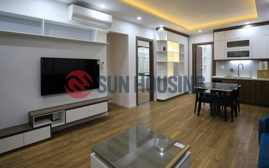 Brand-new, 2 bedroom apartment in main road Tay Ho for rent. 80 sqm