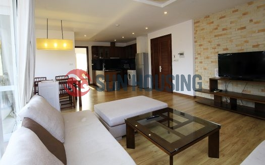 Bright and separated Tay Ho 2 bedroom apartment for rent, good price