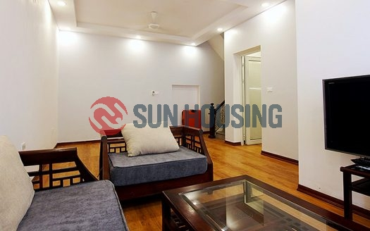 A 3 bedroom house, reasonable price in the center of Tay Ho area for rent