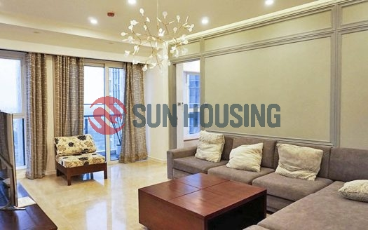 Beautiful apartment in L building Ciputra, Hanoi to rent.