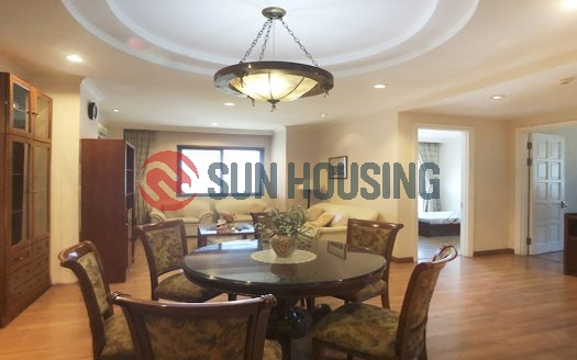 Nice apartment 3 bedrooms in E building Ciputra for rent