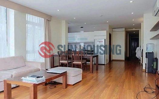 120 sqm 2 bedroom apartment in Yet Kieu, Hoan Kiem for rent