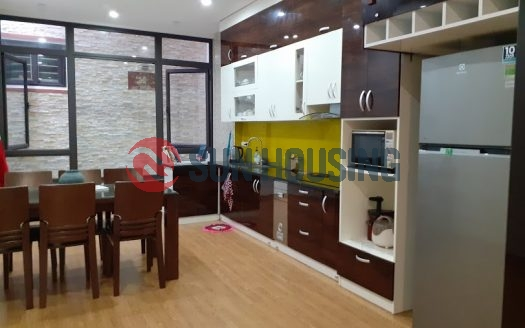 Lac Long Quan modern 5 bedroom house for rent, good location.