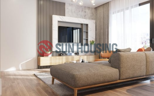Elegant, stylish and functional interior - 2 bedrooms apartment for rent in Tay Ho