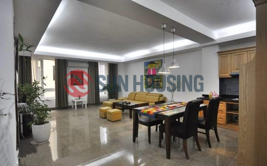 A spacious and affordable 2 bedrooms apartment for rent in Lang Ha