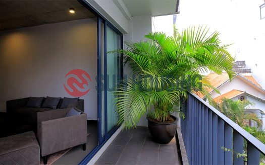 Nice view 2 bedroom apartment in Tu Hoa, Tay Ho for rent