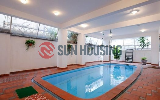 Swimming pool house 4 bedrooms close to West lake in To Ngoc Van for lease