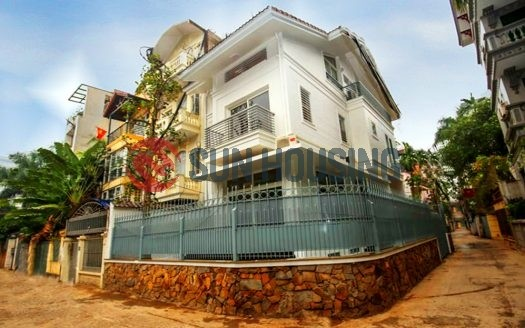Modern house for rent in Dang Thai Mai, 4 bedrooms, bright and airy.